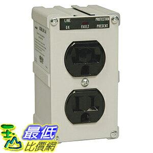 [美國直購] Tripp Lite ISOBLOK2-0 電源插座 Isobar 2 Outlet Surge Protector/Suppressor
