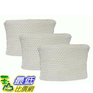 [106美國直購] 3 Honeywell HC-888 & Duracraft D88 Humidifier Filter Fits DCM-200, DH-888, DH-890, DH-890C..
