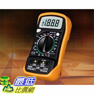 [106玉山最低比價網] 華誼 MAS830L 背光 防燒表 袖珍式 可?式電工專用 數位萬用表