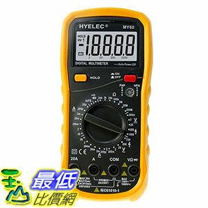 [106玉山最低比價網] 華誼 3位半數字萬用表 MY60 萬能表 多用表電容測試儀