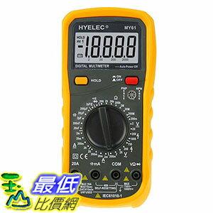 [106玉山最低比價網] 華誼 3位半數字萬用表 萬能表 MY61 多用表電容測試儀