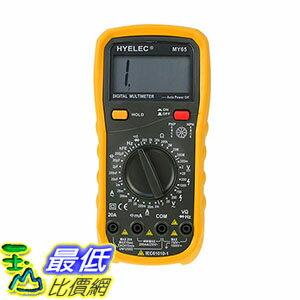 [106玉山最低比價網] 華誼 數字萬用表 4位元半高精度萬能表 MY65 多用表電容測試儀