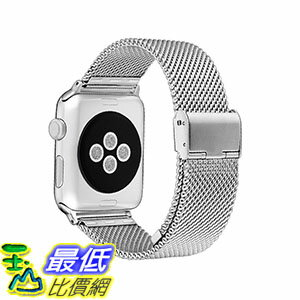 美國直購  MobileBro 42mm Apple Watch Band Stainl