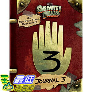 [美國直購]GravityFalls:Journal3Hardcover美國暢銷書978-1484746691