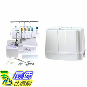 Brother 1034D 3//4 Thread Serger with Differential Feed and Brother 5300 Universal Sewing Machine Carrying Case