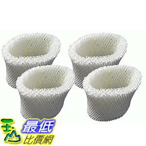 [106美國直購] 4 Vicks WF2 Humidifier Filters V3500N V3100 V3900 Series V3700 Honeywell HCM-350