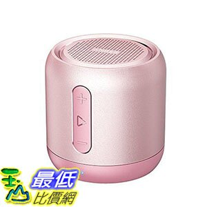 [106美國直購] Anker SoundCore AK-A3101151 玫瑰金 喇叭 mini speaker, micro SD card & FM radio compatible
