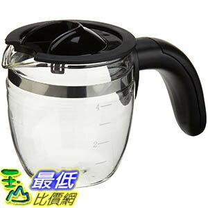 [106美國直購] Capresso 4-Cup Glass Carafe with Lid for 303 Espresso Machine 咖啡機專用杯