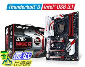 [美國直購] Gigabyte 主機板 LGA 1151 Intel Z170 HDMI SATA 6Gb/s USB 3.1 USB 3.0 ATX Intel Motherboard GA-Z17..