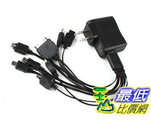 _a[玉山最低比價網] 10合1 USB 多功能 手機 組合 充電器 週邊 商品 (19470_I311) $89