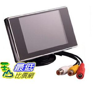 _a[玉山最低比價網] 汽車用 3.5吋 彩色 倒車 監控螢幕 液晶顯示器(21616_Z33) $649