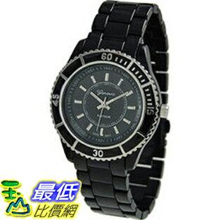 [美國直購 ShopUSA] Geneva 手錶 Platinum 9108.Black.Silver (Women's) Watch _mr $999