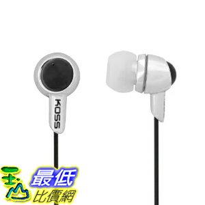 [美國直購 ShopUSA] Koss 入耳式耳機 KEB30S In-Ear Headphone, Silver $1061