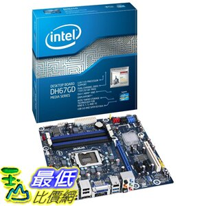 [美國直購 Shop USA] Boxed Intel 台式機主板 Desktop Board Media Series Micro-ATX 2nd Gen Intel Core Family Processors BOXDH67GDB3 $4420