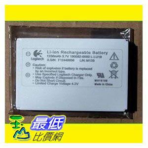 [美國代購 USAShop] 原廠電池 Logitech Battery for Harmony Remote Control 1000 1100 1100i 3.7V 1250mAh $998