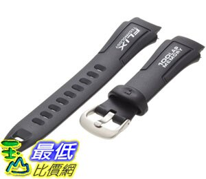 [美國代購 ShopUSA] Timex 錶帶 Men's Q7B807 Resin Ironman Triathlon 100 Lap 18mm Replacement Watchband