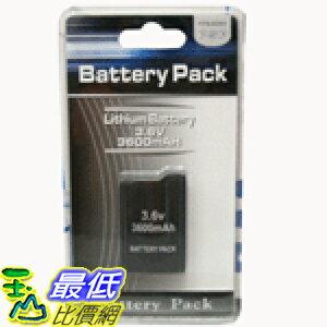 [ 玉山最低比價網] Sony PSP週邊 1000/1007 厚機專用3600mah 副廠電池_P610 $280