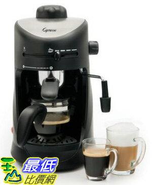 [美國直購 ShopUSA] 咖啡機具用品 新款全新 Capresso 303.01 Mini-S 4-Cup Safety Espresso/Cappuccino_TC01 $3498