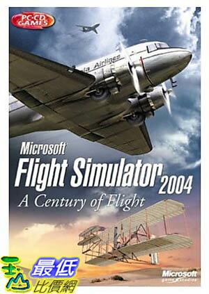 [美國直購 ShopUSA] 全新 微軟 Microsoft Flight Simulator 2004: A Century of Flight G13-00079 g13-00079_T312 $..