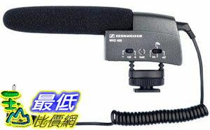 [美國直購 ShopUSA] Sennheiser MKE 400 話筒 Shotgun Microphone - Black $7980