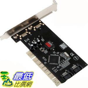 B@[有現貨-馬上寄] PCI Serial ATA/SATA RAID 磁碟陣列 硬碟控制卡 附SATA排線 (9920037_L203)DD