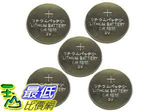 _A@[玉山最低比價網] 5顆 手表/計算機 CR1616 3.0V Lithium 鋰錳 鈕扣/水銀電池 (24019_e26) dd
