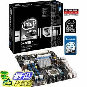 [美國直購 ShopUSA] Intel DX48BT2 Extreme Series X48 桌上型電腦主機板, ATX, DDR3 1600, 3xPCIe x16, 1600MHz FSB, L..