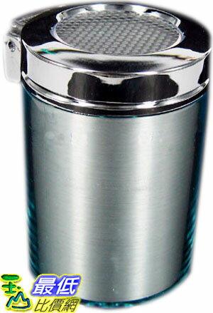 _a^~玉山最低 網^~ 藍光LED 夜間發光 掀蓋式 含蓋式 煙灰缸 菸灰缸 杯子狀 ^