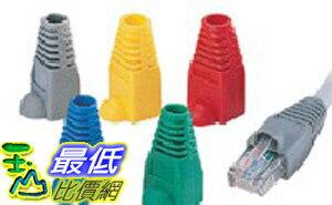 _B@[玉山最低比價網 有現貨] 100顆 進口 RJ45 網路 接頭 護套 防塵套 灰/藍/紅/黑/黃(10012_m21) $65