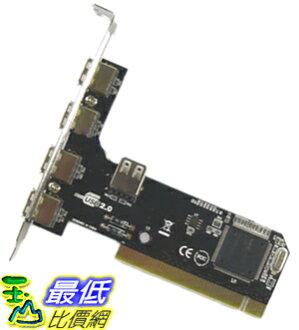 _a@[玉山最低比價網] NEC 晶片 PCI介面 USB 2.0 4+1 埠 擴充卡 (20034N_L13) $129