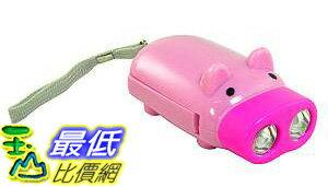 _a@[玉山最低比價網] 手壓式充電 2LED燈 豬造型手電筒(17110_R023) $39