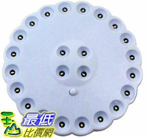 _a@[玉山最低比價網] 飛盤型LED露營燈大 掛燈 白光 24顆LED (22159_h404) $119