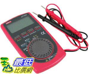 _a[玉山最低比價網]   11cm x 5.5cm x 0.8cm 迷你型 優利德 UNI-T UT10A 數位 液晶 三用電表 電錶 交直流電壓 電流 (34461_J208) $399
