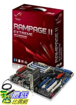[美國直購] ASUS 主機板 Rampage II Extreme LGA1366 Intel X58 DDR3-1600 ATX Motherboard $25425