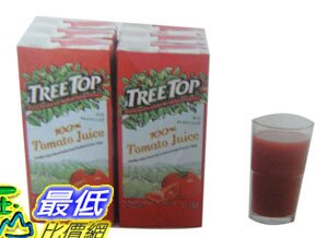 [玉山最低比價網] COSCO TREE TOP 100% 番茄汁 -C74990