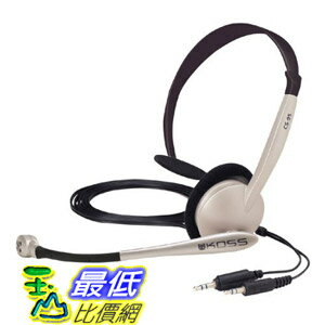 [美國直購 ShopUSA] Koss 電腦耳機 CS95 Speech Recogniton Computer Headset $699