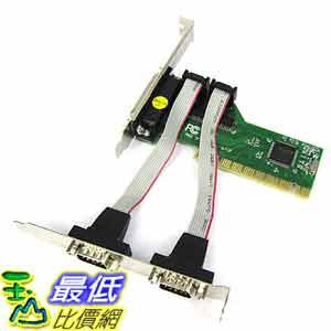 [玉山最低比價網] PCI I O 2 port 擴充卡 Print 1 Port 擴充卡/LPT/RS232/COM (201396_O80) $238