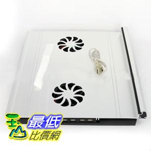 [玉山最低比價網] 鋁合金 4port usb HUB 雙風扇 筆電散熱架 立架 支撐架 (20685) $948