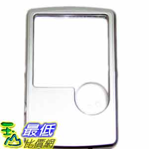 [玉山最低比價網] 3X 6X 雙鏡面 方型 白光 LED 帶燈 壓克力製 放大鏡 (16117_LL08) $99