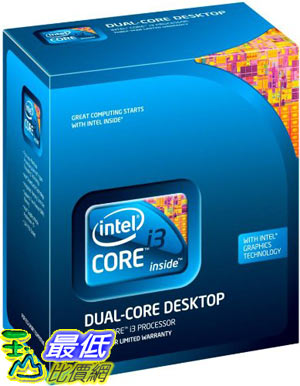 [美國直購 ShopUSA] Intel Core i3 處理器 Processor i3-540 3.06GHz 4MB LGA1156 CPU BX80616I3540 $4906