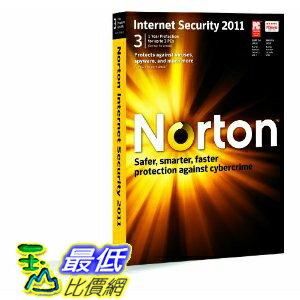 [美國直購 ShopUSA] 諾頓網路安全特警 Norton Internet Security 2011 - 1 User/3 Pc $1759