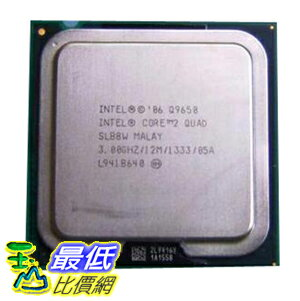 [美國直購 裸裝CPU ] Intel 原廠 Core 2 Quad Q9650 3.0 GHz 12M L2 Cache 1333MHz FSB LGA775 Quad-Core Processor..