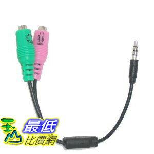 [美國直購 ShopUSA]  Headset Buddy: 適配器 PC Headset to 3.5mm Smartphone Adapter