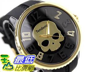 [玉山最低比價網]  東京直購  HYDROGEN ;TENDENCE 聯名款 骷髏頭手錶 金