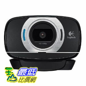 [美國直購 ShopUSA] 攝像頭 Logitech HD Portable 1080p Webcam C615 with Autofocus (960-000733)