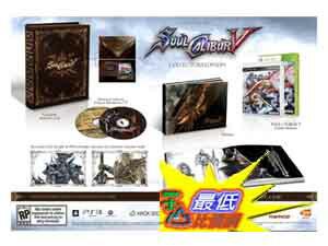 [玉山最低比價網] XBOX360 劍魂 5 Soul Calibur 5 (英日合版) (限定版) 搭贈多款附件 AA5 $998