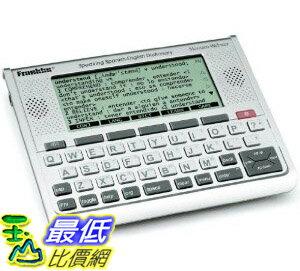 [美國直購] 富蘭克林英語西班牙語口語文法翻譯機 Franklin Spanish Pocket-Sized Translator $ 3598