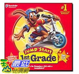 美國兒童教育軟體  家庭版 JumpStart 1st Grade ~ Vista Co