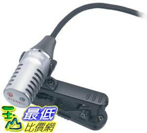 [美國直購] Sony 收音/ 錄音專用麥克風 ECM-CS10 Tie-Clip-Style Omnidirectional Business Microphone TC2 $1320