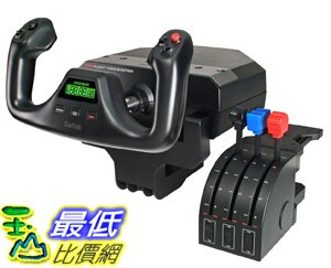 [美國直購 ShopUSA] 賽鈦客 Saitek Pro Flight Yoke with Three-Lever Throttle (PZ44) $7488